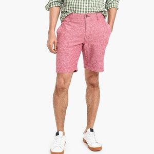 "J. Crew 9"" Gramercy linen-cotton short"